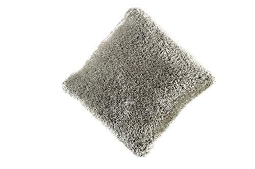 Sona Kissen (Sona-Lux Kissen SOR gefüllt Farbe Silber 45 x 45 cm)