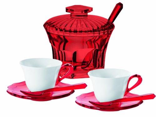 Guzzini 29160265 Set 2 Tazzine Caffe, Modello Belle Epoque 1
