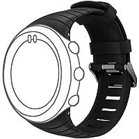 DD Uhrenarmband für Suunto Core, Weiche Silikon Uhr Ersatz Zubehör Handschlaufe für Suunto Core Smart Watch