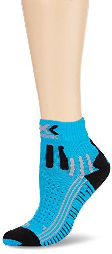 X-Socks Funktionssocken Effektor Running Shorts Lady, Turquoise/Black, 37/38, S100014