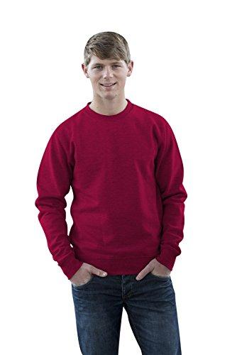 JH030 Sweater Sweatshirt Sweat Sweater Pullover Cranberry