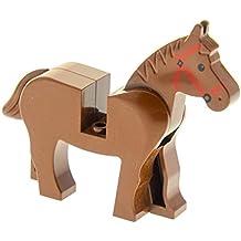 1 x Lego Duplo Lasso braun Western Indianer Cowboy Kutsche Seil Pferd 2433 31182