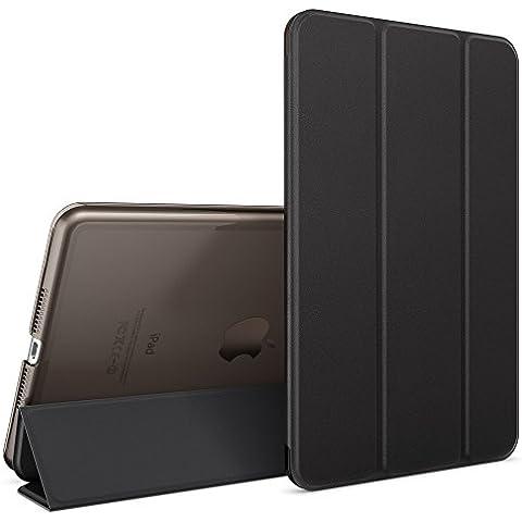 nica Smart Case Apple iPad Mini 4 Tablet Caso Ultrasottile Slim Cover - Multi Supporto Verticale Funzione Automatica Sveglia / Riposo - Nero - Partito Personalizzati Mini