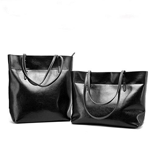 Lady 6 Leder Paket Casual Diagonale und Leder Handtasche Taschen einfache Schultertasche praktische x1OxPwS