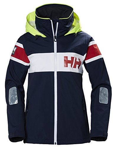 Helly Hansen Damen Trainingsjacke W Salt Jacket, Blau (Azul 597), Medium