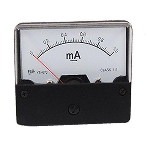 YS-670 panel mount DC 0-1 mA Huidige Ammeter meten Ys-mount