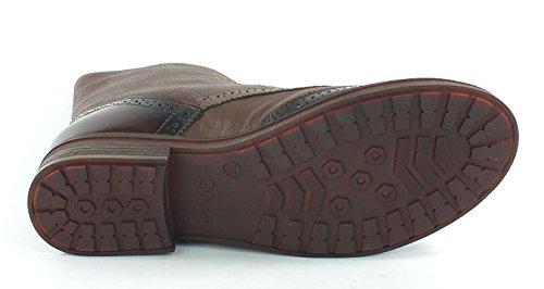 Cogac oliver 7133 Stiefelette Leder Cognac S Boots qfXZg