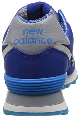 New Balance Mens Classics Traditionnels Textile Trainers Blue White