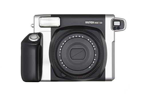 Foto Fujifilm Instax Wide 300 Fotocamera Istantanea, per Foto Formato 62x99 mm, Nero/Argento