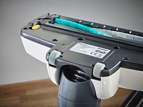 Leifheit Regulus PowerVac 2en1 Aspiradora barredora, 125 W, Negro, Azul, Blanco