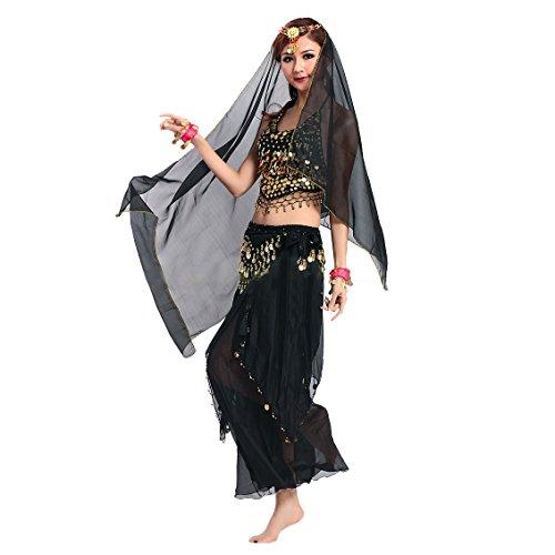Kostüm Kostüme Bauchtanz (VENI MASEE Gaze Bauchtanz Kostüme Set - ein Sechs-Stück, Preis / Set -)