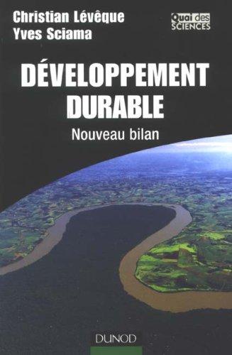 Développement durable : Nouveau bilan
