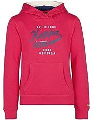 Kappa Mädchen Wenke Hooded Sweatshirt Short Sleeve