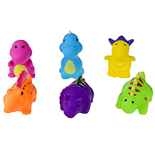 Juego de chorros de Dinosaurios de 6 piezasflotante baño...