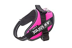 Julius-K9, 16IDC-DPN-MM, IDC Powerharness, dog harness, Size: Mini-Mini, Dark Pink