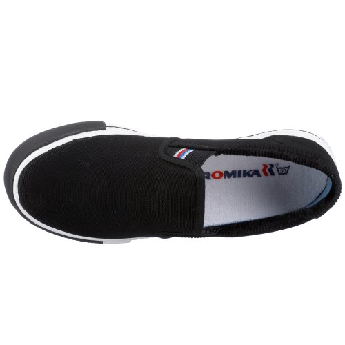 ROMIKA Laser UNISEX Baskets mode-u.Freizeit-Slipper 39 beige (schilf), Baskets mode mixte adulte Noir