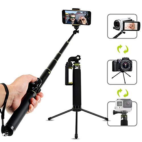 LIGHTOP Selfie Stick Aluminium Folding Mini Selfie Stick Spezial Tauchen Kleine Ameise Sport Kamera Selfie Stick
