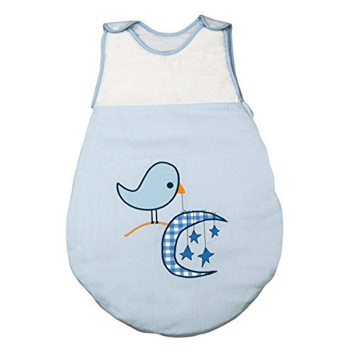 Saco de Dormir de Bebé modelo Pajarito de Petit Chat (talla 0-6 meses)