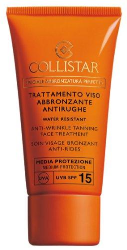 Collistar speciale abbronzatura perfetta trattamento viso abbronzante antirughe spf 15 50ml