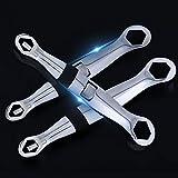 HESDEL Maulschlüssel Wartung, verstellbar, multifunktional, Auto-Reparaturwerkzeug