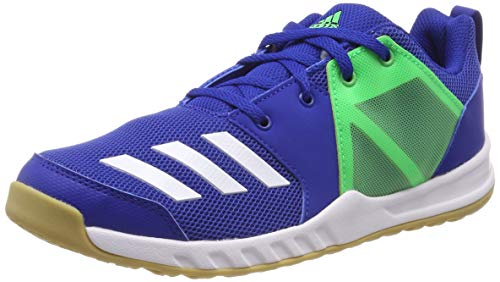 adidas Unisex-Erwachsene FortaGym K Fitnessschuhe, Blau (Reauni/Ftwbla/Limsho 000), 39 1/3 EU