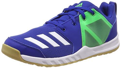 adidas Unisex-Kinder Fortagym K Fitnessschuhe, Blau (Reauni/Ftwbla/Limsho 000), 36 2/3 EU