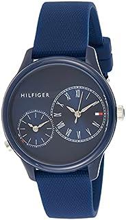 Tommy Hilfiger Womens Quartz Wrist Watch, Chronograph and Silicone- 1782146