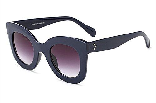 Wer Bin Ich Großen Box-Retro Schmetterling Dame Fahrer Polarisierte Sonnenbrille Im Freien Flut Kühlen Joker,Grey