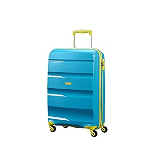 Trolley Cabina 55 Cm Spinner 4 Ruote | American Tourister Bon Air | 85A001-Blue/Lime