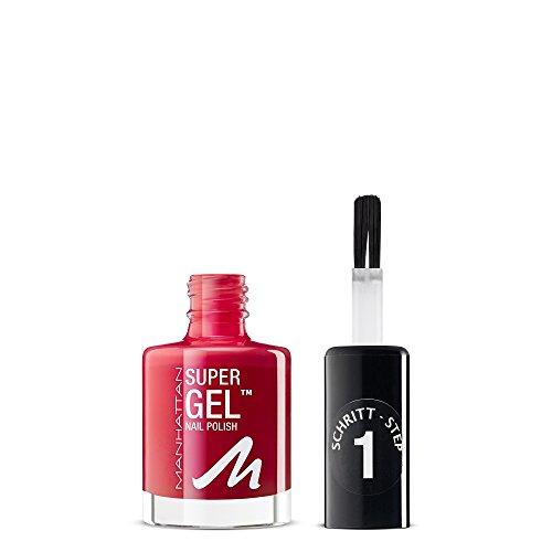 Manhattan Super Gel Nagellack, Farbe 635, 1er Pack (1 x 12 ml)