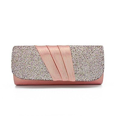 pwne L. In West Wome Die Elegante Hochwertige Handgefertigte Blume Diamanten Abend Tasche Blushing Pink