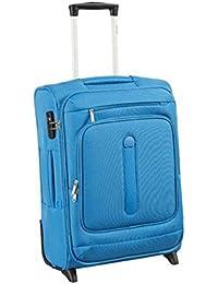 Delsey Manitoba luggage Trolley cabin Slim 2R 55 light blue