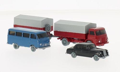 Set WIKING-VERKEHRS-MODELLE Nr.58:, 0, Modellauto, Fertigmodell, Wiking / PMS 1:87