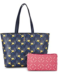 Global Desi Women's Tote Bag (Navy)