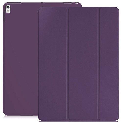 KHOMO iPad Air 3 10.5 (2019) / iPad Pro 10.5 (2017) Case Hülle, Gehäuse mit Doppeltem Schutz Ultra Dunn und Super Leicht Smart Cover Schutzhülle - Violett (Deckung Ipad Lila)