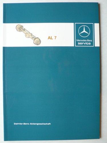 Mercedes-Benz Lastwagen Achse AL 7 - Werkstatt-Handbuch - Service
