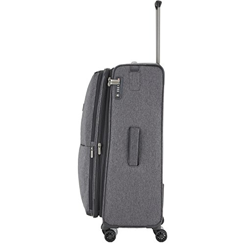"TITAN Valise trolley ""Square"" avec 4 roues anthracite Koffer, 78 cm, 126 liters, Schwarz (Anthracite) Schwarz (Anthracite)"