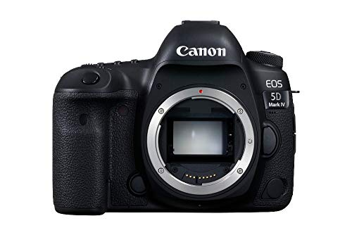 Canon EOS 5D Mark IV SLR-Digitalkamera (30,4 MP, 8,1cm Touchscreen-LCD, DIGIC 6+, Dual Pixel RAW, 4K Video, WLAN, NFC, GPS) Gehäuse