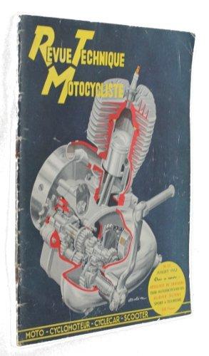 Revue technique motocycliste n°53, juillet 1952 par Collectif