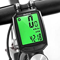 BACKTURE Bike Computer Odometer Wireless Waterproof GPS Bicycle Odometer Speedometer one button Wake-up Multi-function Riding Wireless Code Table LCD Display Bicycle Accessories Autdoor Sports Tools