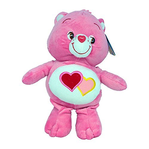 Love-a-Lot Bear 9''/12'' Super Soft Toy Plush Care Bears Red Heart Teddy