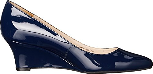 Pompe Cole Haan Catalina Wedge Blazer Blue Patent
