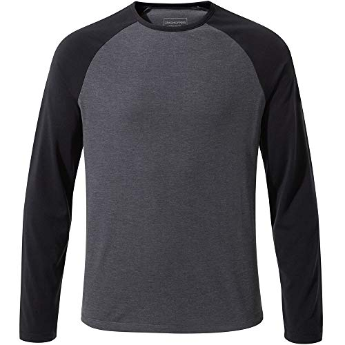 Mens Long Sleeve Thermal Tee (Craghoppers Mens First Layer Thermal Long Sleeve T Shirt)