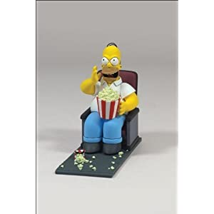 McFarlane Simpsons Movie Mayhem Homer Simpson Figure with Sound by Simpsons 3