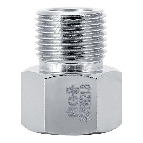 Fdit Aquarium Ausrüstung CO2 Zylinder Adapter Verbindungsstück Konverter für Aquarium 4 Größen(# 2) - Co2-tank Paintballs