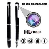 HD 1080P Kein Loch Versteckte Mini Spy Pen Kamera Camcorder Videorekorder Kindermädchen Kamera Pen Loop Aufnahme