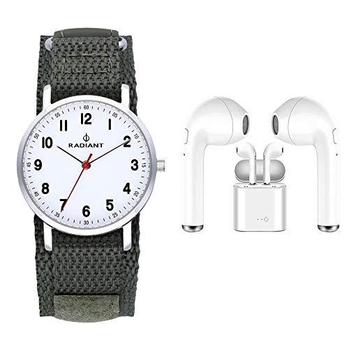 Radiant antonello orologio Unisex Analogico al Al quarzo con cinturino in Nylon RA500602