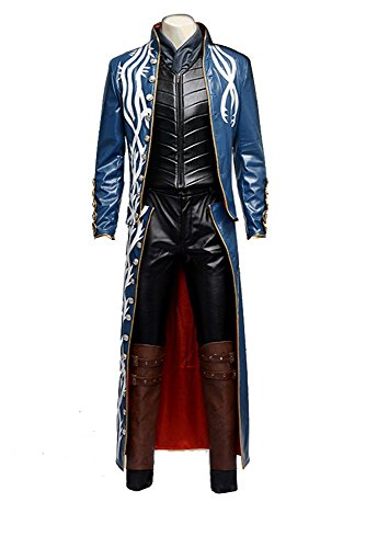 Devil May Cry 3 Game Vergil Cosplay Kostüm Full (Kostüm Vergil Cosplay)