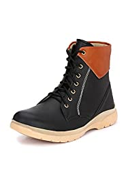 Guava Plain toe Boots Black