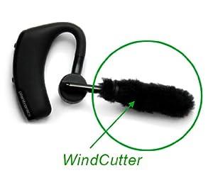 windcutter fur microphone windscreen for plantronics legend bluetooth headset cancel wind noise. Black Bedroom Furniture Sets. Home Design Ideas